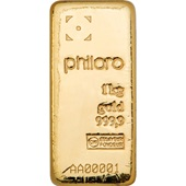 Goldbarren 1000g - philoro