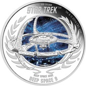 Star Trek - Deep Space Nine 2015 1oz Silbermünze PP