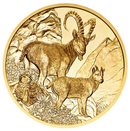 100 Euro Goldmünze Der Steinbock Pp 2017