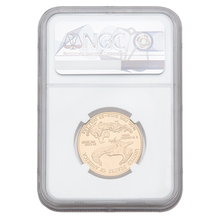 Gold American Eagle 1/2 Special Edition