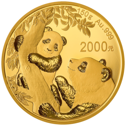 Gold China Panda 150 g PP - 2021
