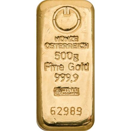 Goldbarren 500g Münze österreich
