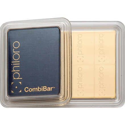 Gold CombiBar 1 oz - philoro