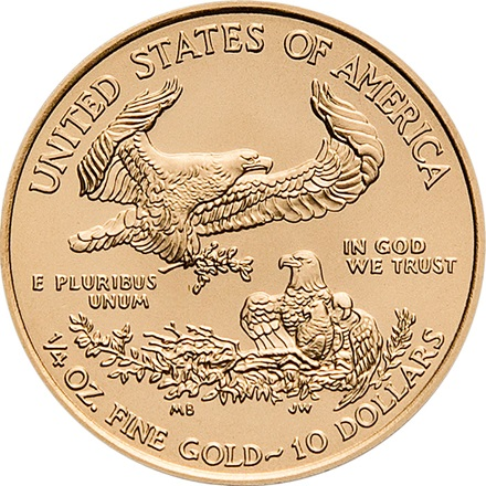 Gold American Eagle 1/4
