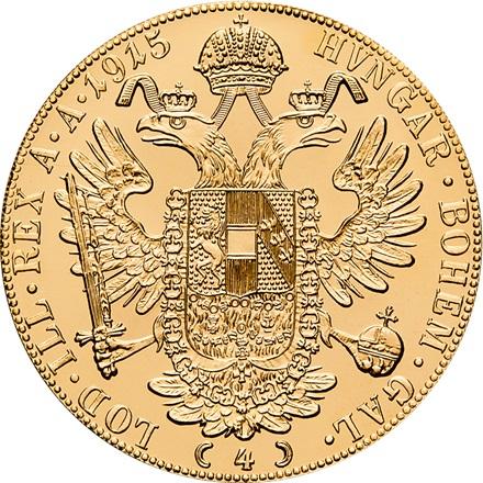 Gold Dukaten 4 Fach