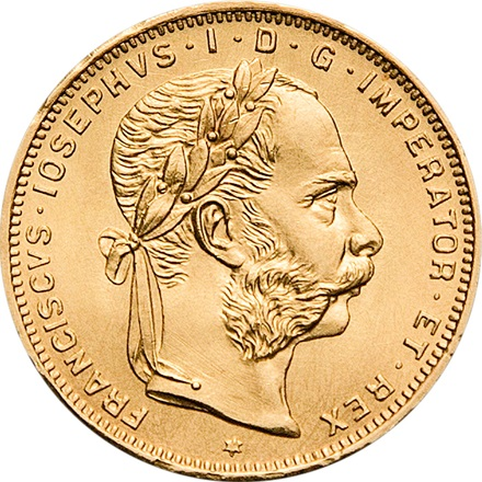 Gold 8 Gulden