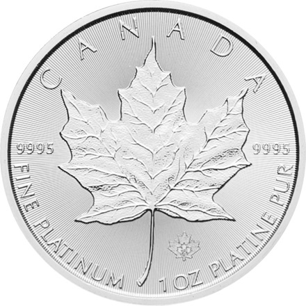 Platinmünze Maple Leaf 1/1