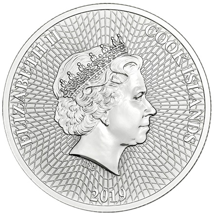 Silver Star 1 oz 2019 - Cook Islands
