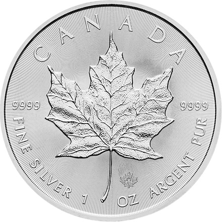Silber Maple Leaf 1/1 - differenzbesteuert